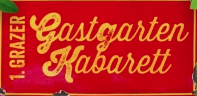 1. Grazer Gastgarten Kabarett  mocca-in
