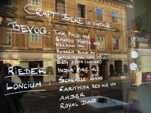 Vintage Craft Beer Jakominiviertel