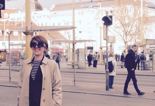 Alice Holmberg, Co-CreationExpertin mit dem Blick von außen, zu Besuch im Jakominiviertel