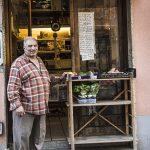 Fausi Mosalam, gebürtiger Ägypter, seit 28 Jahren Feinkosthändler in der Jakoministraße