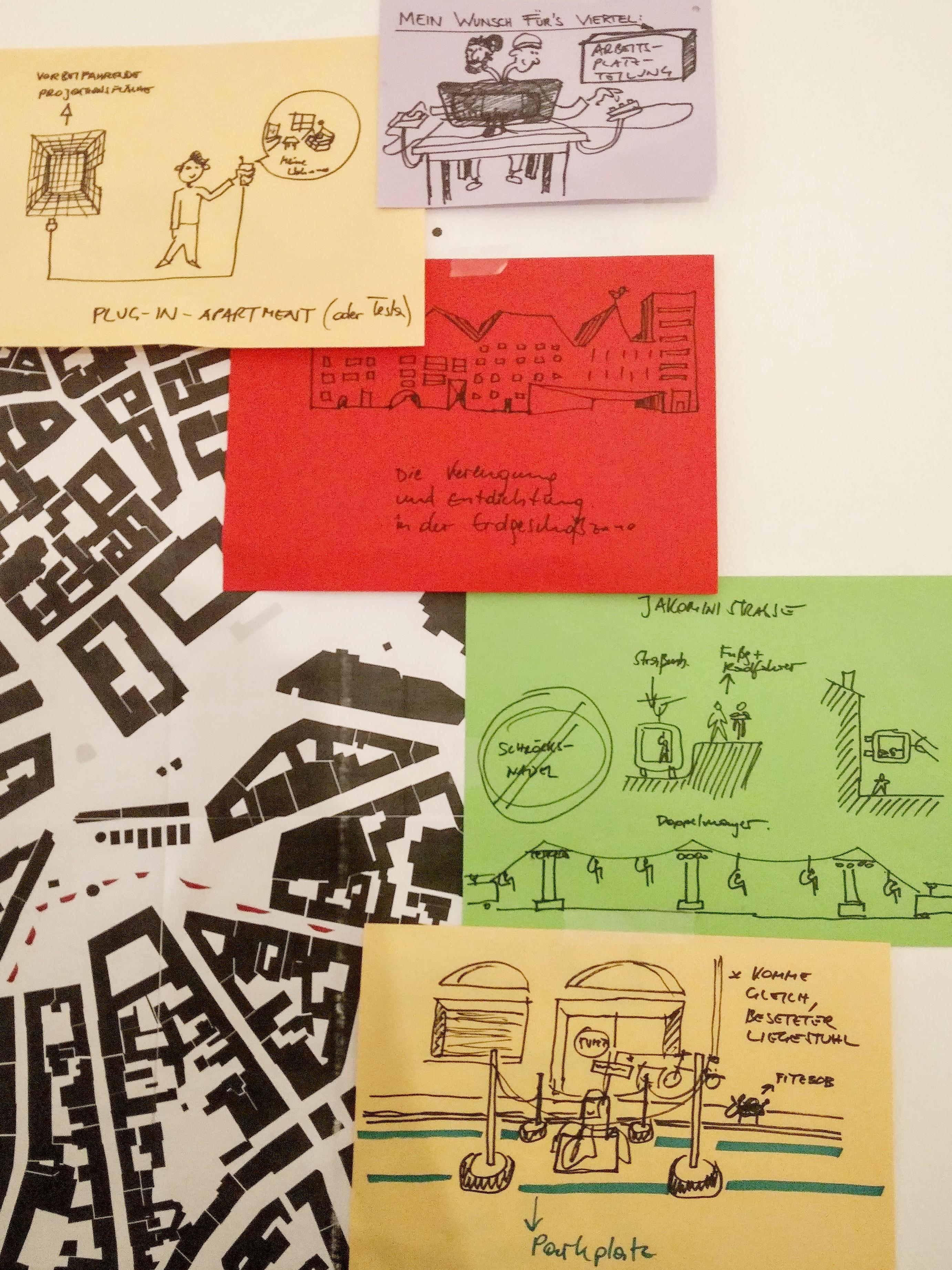 Auch futuristische Ideen wurden grafisch zusammengefasst.