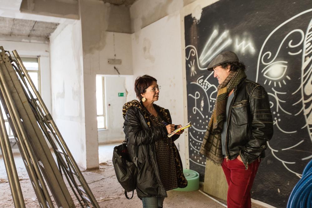 Oswald Held im Gespräch mit Nina Popp