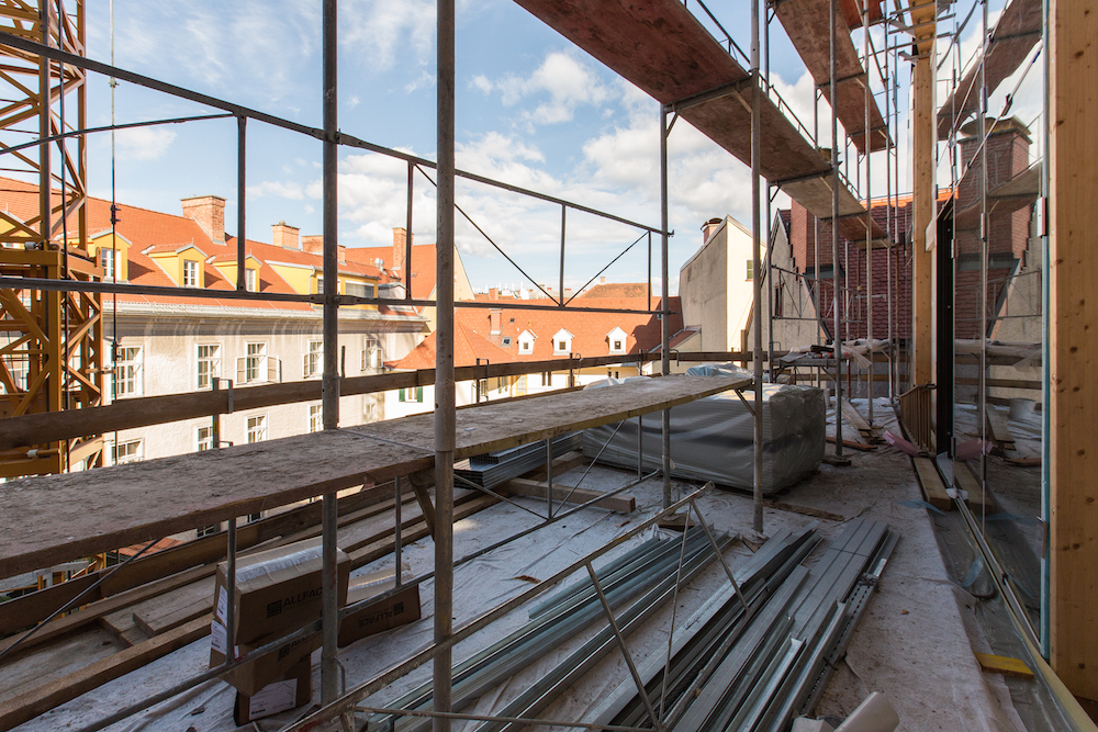 Ende des Jahres werden Wohnungen und Büros fertig sein.
