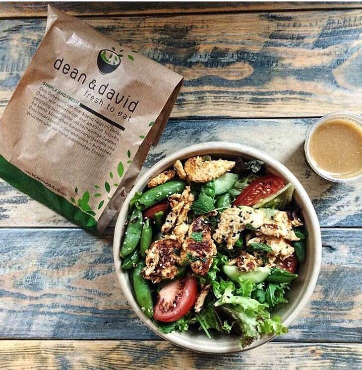 Würziger Tandoori India Salat für eine gesunde Mittagspause