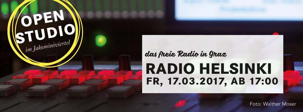 OPEN STUDIO Radio Helsink