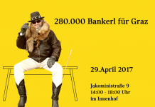 280.000 bankerl für Graz 1 brauchst