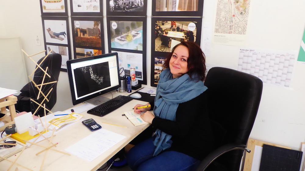 FUFFZK, Studio Magic und Verein Jakominiviertel gäbe es nicht ohne sie: Patricia Wess, Architektin, Ausstellungsgestalterin und und und