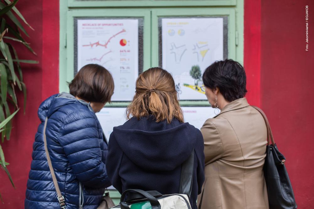 Neue Ideen fürs Jakominiviertel wurden beim Bankerl-Fest vorgestellt und diskutiert.