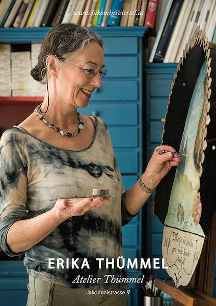 Restauratorin Erika Thümmel Jakominiviertel – Foto DJakob